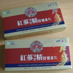 KOREAN RED GINSENG SOFT CAPSULE GOLD (2Boxes)   ! #KOREANREDGINSENG