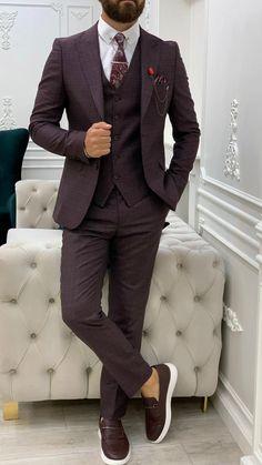 Formal Suits, Suit Vest, Men's Suits, Black Suits, Suit Fashion, Wedding Suits, Slay, Jackets, King