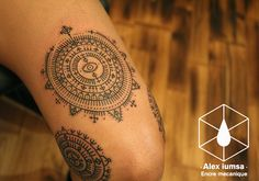 Mandala tattoo designs fall into the category of spiritual tattoos as they have deeper spiritual meaning, which make them very different from the rest - Part 5 Gorgeous Tattoos, Great Tattoos, Body Art Tattoos, Tatoos, Tattoo Designs And Meanings, Tattoos With Meaning, Croatian Tattoo, Traditional Mandala Tattoo, Mandala Tattoo Meaning