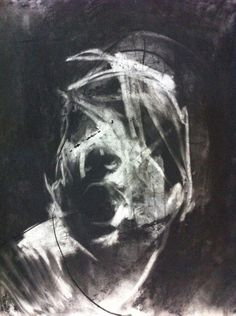 """nuclearharvest: """" A Study of Delirium by Antony Micallef 2013 """" Abstract Portrait, Portrait Art, Abstract Art, Nursery Drawings, Art Drawings, Life Drawing, Painting & Drawing, Drawing Artist, Figure Painting"""