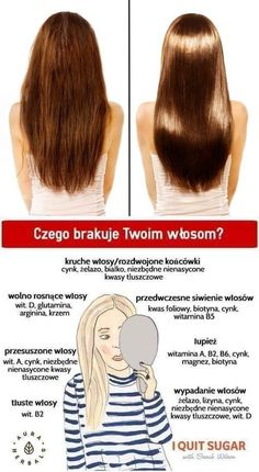 Zobacz zdjęcie czego brakuje twoim włosom w pełnej rozdzielczości Beauty Care, Beauty Hacks, Glow Up Tips, Hair Health, About Hair, Hair Hacks, Healthy Hair, New Hair, Health And Beauty