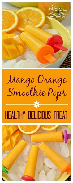 Mango Orange Smoothi
