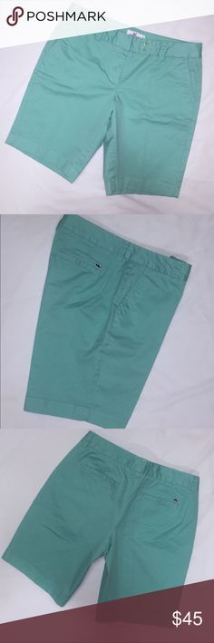 Vineyard vines shorts Very pretty shade of light green! Excellent condition! Run a tad big in my opinion Vineyard Vines Shorts Bermudas
