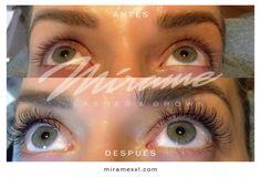 Extensiones de Pestañas Mírame Lashes & Brows #MinkLight, efecto marcado sin perder la naturalidad. miramexxl.com