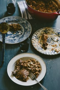 Kota me Hilopites-Chicken with Pasta