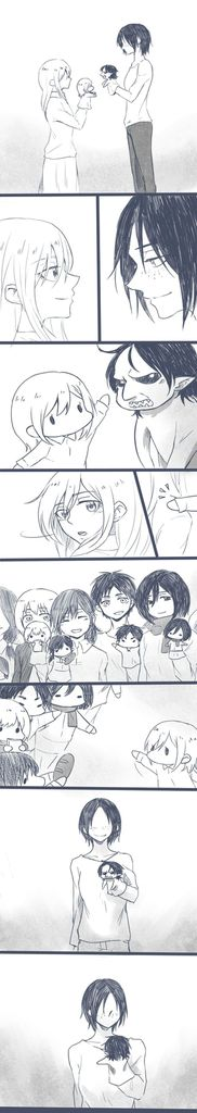 Image discovered by Yuki. Find images and videos about cute, anime and attack on titan on We Heart It - the app to get lost in what you love.