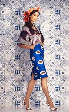 Stella Jean SS 14 #print #bird