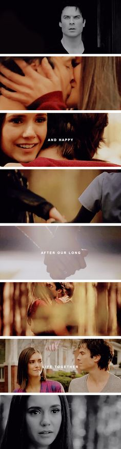 at least delena lived a long and happy human life together.