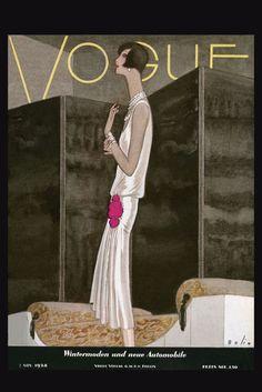 Lumas Vogue cover  - Nov 1928