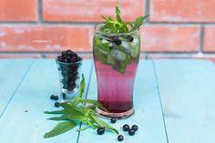 Homemade Berry lemonade for 5 minutes