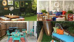 Outdoor Furniture Sets, Outdoor Decor, Patio, Diy, Design, Home Decor, Decoration Home, Bricolage, Room Decor