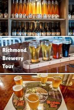 There are numerous cideries and craft breweries to visit in Richmond, Virginia. Taking a tour and doing a beer tasting is a perfect way to spend a weekend here | The Summertime Brews: Hopping Around Richmond Breweries
