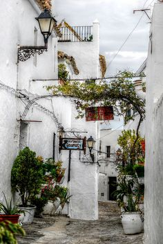 Vejer de la Frontera - A rypical village in Andalusia,Spain... This is somewhere that I would love to be strolling through right now!