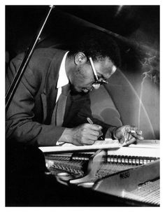 """""""Everybody in all countries tries to play jazz.""""  ~Thelonious Monk"""