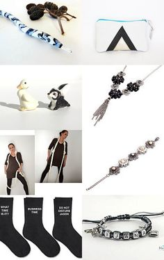 Black and White by midnightcoiler on Etsy--Pinned with TreasuryPin.com