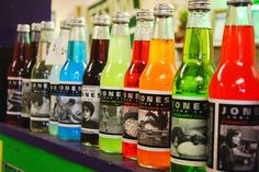 I love Jones soda!