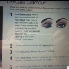 Mary Kay makeup application