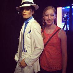 Michael Jackson at wax museum