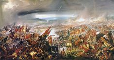 """Guerra de la Triple Alianza fue un de más mortal guerras en América Latina. Paraguay fue a la guerra contra Brazil porque Paraguay sintió el poder equilibrio en la región fue amenazado. En 1865, Brazil alineó con Argentina y Uruguay. Ellos se convirtieron un triple alianza. La guerra destrozó Paraguay y redujo la población por la mitad. También causó la desnutrición, la enfermedad, y la corrupción en Paraguay. Finalmente, la guerra terminó en 1870.  """"Batalla de Avaí"""" - Pedro Américo (1877)"""