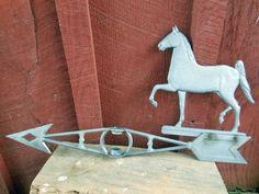 Vintage Cast Aluminum Walking Horse by KirasCuriosities on Etsy