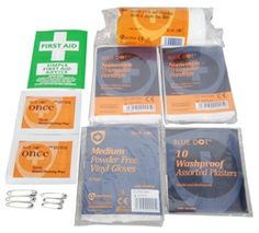 HSE One Person Fist Aid Kit Essential First Aid Kit, Security Equipment, Hand Sanitizer, Coding, Tools, Instruments, Programming