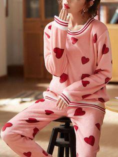 Milanoo new arrivals 2019 - Milanoo.com Women Sleeve, Surprise Gifts, Flannel, Pajamas, Lingerie, Long Sleeve, Pink, Fashion, Pjs