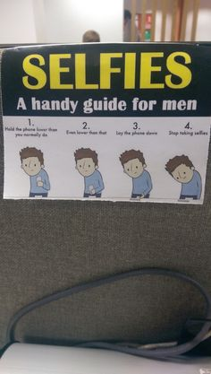 This handy guide hangs on one of my colleagues desk.