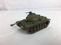 CORGI M48 Tank Wild One 4 Vietnam Great Tanks Fighting Machines FACE ON FRONT #Corgi