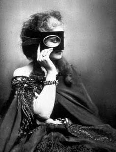 One of the very first fashion shoots---Countess of Castiglione taken by Pierre-Louise Pierson in 1856.
