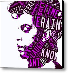 Prince Purple Rain Canvas Print / Canvas Art By Marvin Blaine