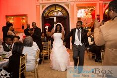 Syreeta and Damiyon Introduced for the First Time as Husband and Wife!