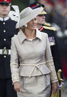 Sophie, Countess of Wessex at the Sovereigns Parade