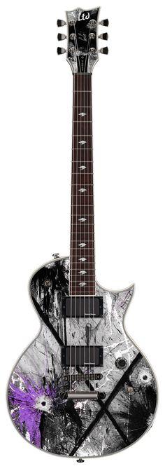 ESP LTD GUS-600 EC Gus G. Signature Series Electric Guitar - Custom Graphic Finish