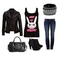 Mit vegyek fel - ROCKERES | köpönyeg.hu Polyvore, Clothes, Image, Fashion, Outfits, Moda, Clothing, Fashion Styles, Kleding