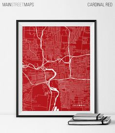 Columbus Map Art Print Columbus City Map of by MainStreetMaps https://www.etsy.com/listing/226640937/columbus-map-art-print-columbus-city-map?ref=shop_home_active_9