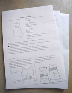 Lovely Japanese sewing patterns... in English!