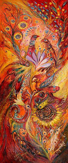 Four elements: Fire, Elena Kotliarker