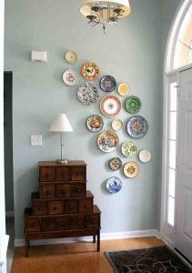 How To Hang Plates On A Wall With Style