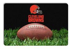 Cleveland Browns Classic NFL Football Pet Bowl Mat - L