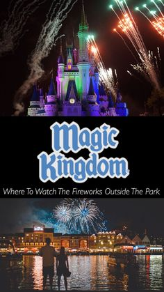 Magic Kingdom ~ Where To Watch The Fireworks Outside The Park