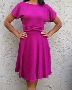 Sew Pretty Sew Free: Bow Dress Sewing Pattern