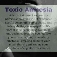 Toxic Amnesia