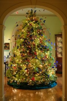 butterfly Christmas tree.. so beautiful by stacyn3