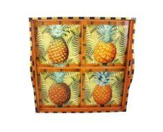 Pineapple | Handmade Housewares from Annie Modica  | ❤ | rePinned by CamerinRoss.com