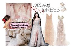 """Dreamy Dresses"" by lilaclynn ❤ liked on Polyvore featuring Valentino, Marchesa, Dolce&Gabbana and dreamydresses"