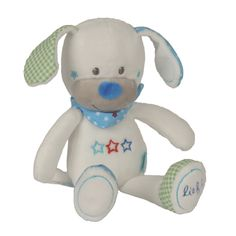 lief! lifestyle knuffel hondje wit | soft toy pluche dog white | babies & toddlers | kids