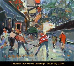 Hockey in Spring Time Spring Time, Hockey, Inspire, Artists, Creative, Painting, Inspiration, Painters, Biblical Inspiration