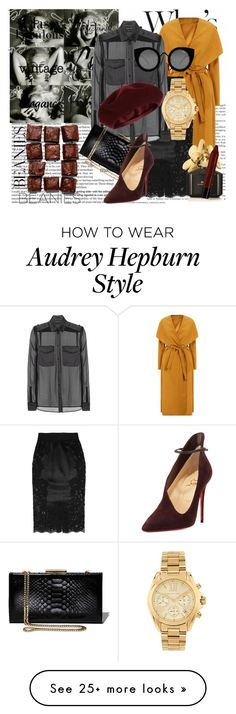 """Sometimes,we are wrong in all the right ways..."" by mariaannie on Polyvore featuring GE, Dolce&Gabbana, Tom Ford, Accessorize, Salvatore Ferragamo, Christian Louboutin, Quay, Marc Jacobs, NYX and Michael Kors"