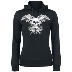 Viking Skull - Sweat-shirt à capuche par Black Premium by EMP