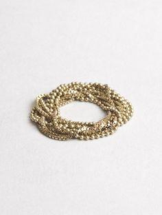 Wedding : Russian Wedding Chain Ring Gold - Macha nyc - unique custom jewelry; mens wedding and engagement rings, Brooklyn NYC